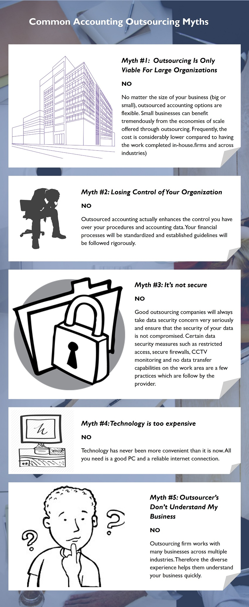 common accounting outsourcing myths