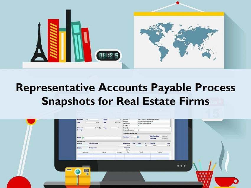 Accounts Payable Process Snapshot Real Estate Firms