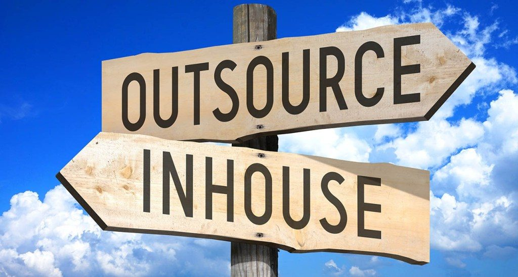 inhouse vs outsourcing