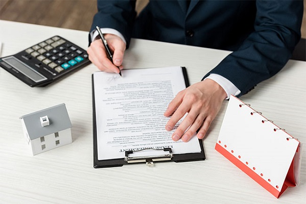 Outsourced lease abstraction services
